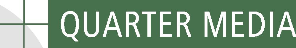 Quarter Media Logo Weiß